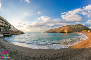 Matala Golden Beach